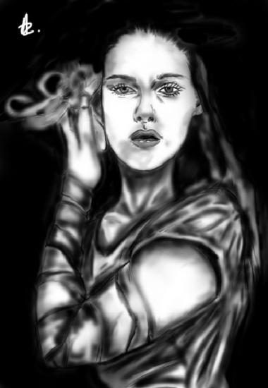 Kristen Stewart by Ledzep